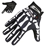 TRIWONDER Cycling Gloves Mountain Road Biking Riding Gloves Breathable Wear-Resisting Shock-Absorbing for Men and Women (Black - Full Finger, M)