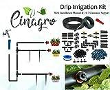 CINAGRO - Drip Irrigation Garden Watering Drip Kit (100 Plants Drip Kit)