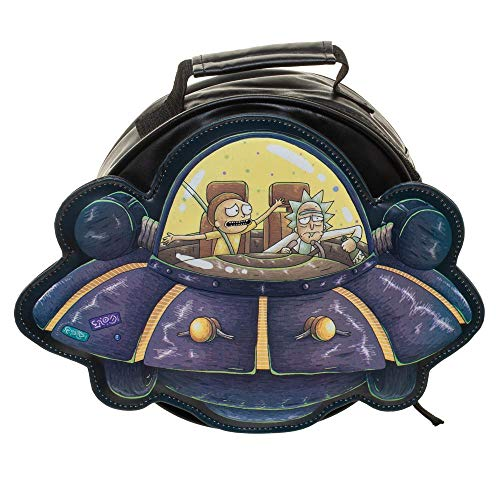 Rick and Morty Spaceship Die Cut Lunch box