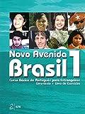 Novo Avenida Brasil 1 - Curso Basico de Portugués Brasileño + Audio-CD