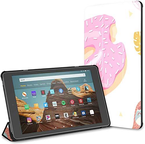 Funda para la Tableta Sweet Cute Animal Populai Lazy Sloths Fire HD 10 (9a / 7a generación, versión 2019/2017) Fire HD 10 Funda Impermeable para una Fire HD 10 Auto Wake/Sleep para Tableta de 10.1