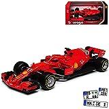 Bburago Ferrari SF71H Nr 5 Sebastian Vettel Saison 2018 1/43 Modell Auto