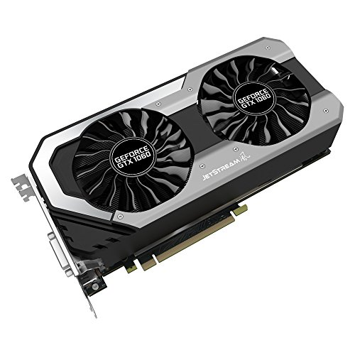 Palit NE51060S15J9-1060J NVIDIA GeForce GTX 1060 6 GB GDDR5 Graphics Card - Silver,113392