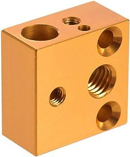3D Bazaar Creality Ender 3 Original 3D Printer Aluminum Heater Block for MK7 MK8 Extruder and Heater jacket Combo