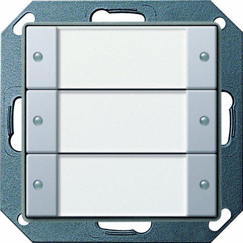 Gira 2003203 Tastsensor 2 3 Fach 24V potentialfrei Gira E22, Aluminium