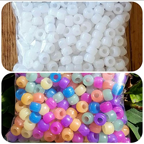 Original Solaractive UV Color Changing Beads - 7 Colors, 250 Beads Most Popular Pony Beads!
