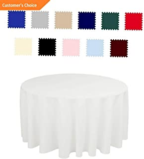 Kaputar 5 Pack 70 inch Round Wedding Polyester Table Cover Wedding Table Cloth | Model TBLCLTH - 167 | 70034