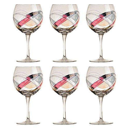 CRISTAL DE PARIS Galleria Lot de 6 Verres à vin Blanc