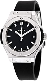 hublot women's black watch