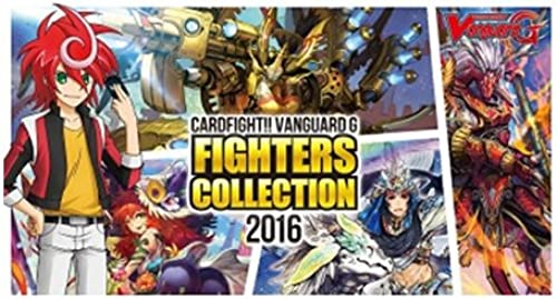 Cardfight Vanguard G 2016  T CDU Fighters Collection Pack