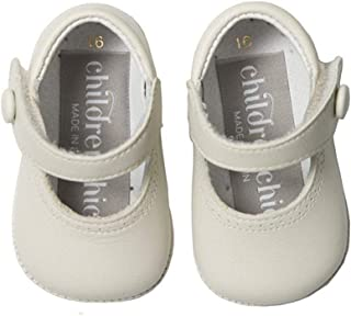 Childrenchic My First Leather Mary Janes - Baby Shoes for Girls (Infant, Toddler, Little Kid)