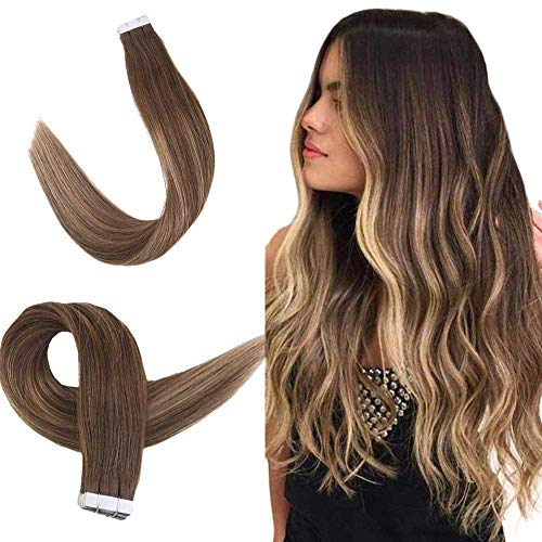 Ombre Tape in Extensiones Cabello Humano Seamless