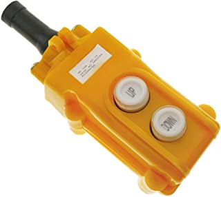 Caja de 2+2 pulsadores momentaneos y 2 conmutador y parada de emergencia de la serie COB BeMatik