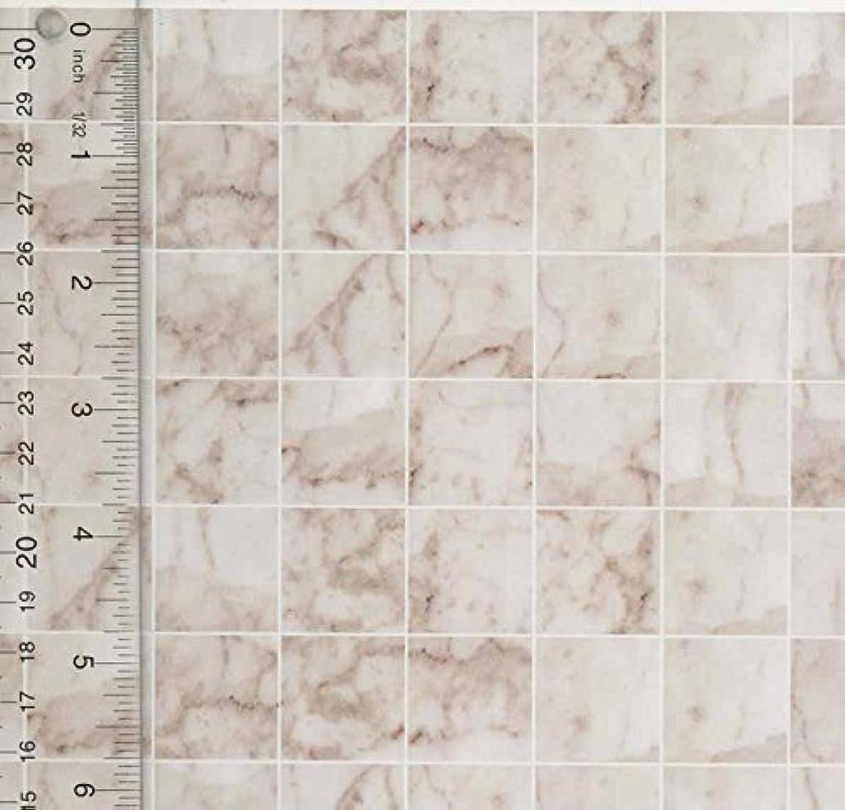 ミンチ真夜中シュートMiniature Square White Marble Tile Flooring