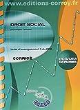 Droit social Corrigé - UE 3 du DCG