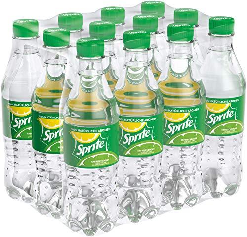 Sprite, Maximale Erfrischung mit Limetten und Zitronen Geschmack in praktischen Flaschen, EINWEG Flasche (12 x 500 ml)