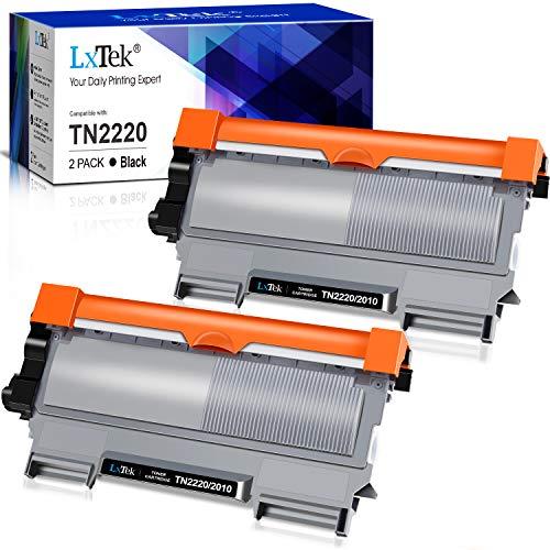 LxTek TN2220 Compatible Reemplazo para Brother TN2220 TN-2220 TN2010 TN-2010 Cartuchos de tóner para Brother MFC-7360N HL-2130 2240D 2250DN 2270DW FAX-2840 2940 2845 DCP-7060D 7055 7055W 7065DN 7070DW
