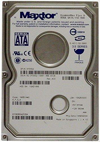 80GB HDD Maxtor DiamondMax Plus 9 S-ATA ID10724