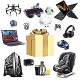 RTEY Caja Sorpresa, Mystery Box, Caja De La Suerte para Productos Electrónicos, Productos Aleatorios Podrían Ser: Teléfonos Móviles, Drones, Relojes Inteligentes, Auricul