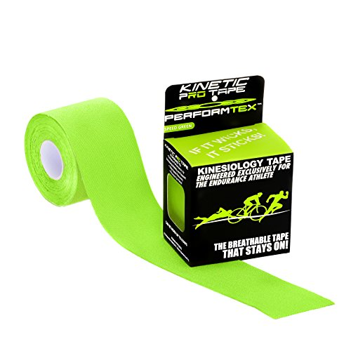 Performtex Kinetic Pro Kinesiology Tape - Speed Green - 5 Meter Roll