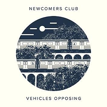 Vehicles Opposing