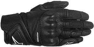 Alpinestars Stella Baika Womens Leather Motorcycle Gloves - Black - Small