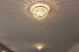 Worldwide Lighting W33085B16 Metropolitan 4 Light Flush Mount Ceiling Light, Antique..