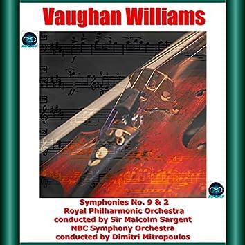 Vaughan Williams: Symphonies No. 9 & 2
