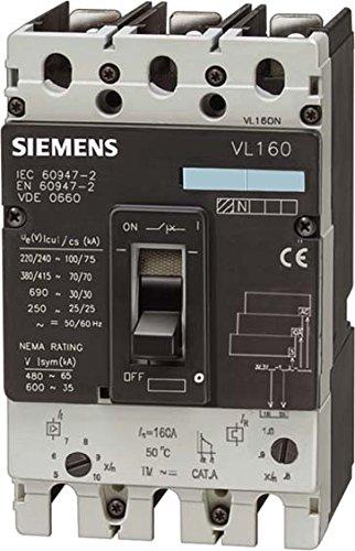 Siemens Indus. Sector Power Switch 3VL27161EE430AA0VL160N Power...