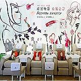 Zybnb Custom Wallpaper 3D Tienda De Cosméticos Tienda De Uñas Salón De Belleza De Fondo Mural De La Pared Decoración Pintura Carteles Personalizados Wallpaper-400X280Cm