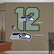 "Main product image size is 39""W x 37""H Ideal for decorating any room in the home or office; Safe for painted walls and other smooth surfaces! Just peel, stick and impress; It's that easy Thick high-grade vinyl resists tears, rips and fading; MADE IN ..."