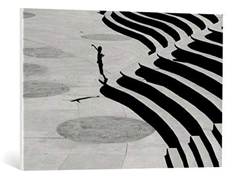 Kunst für Alle Cuadro en Lienzo: Emine Basa Stairs - Impresión artística, Lienzo en Bastidor, 90x60 cm