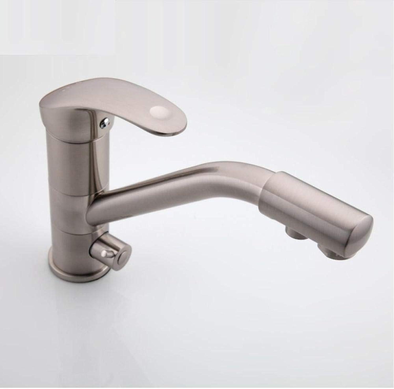 Neue Küchenarmatur Kalt- und Warmwassermischer Chrom Einhandwaschbecken für Waschbecken und Küchenarmatur