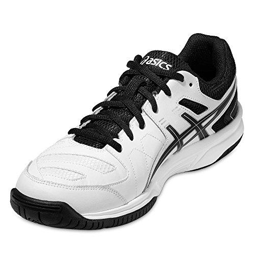 ASICS - Tennisschuhe in Weiß Schwarz, Größe 49 EU