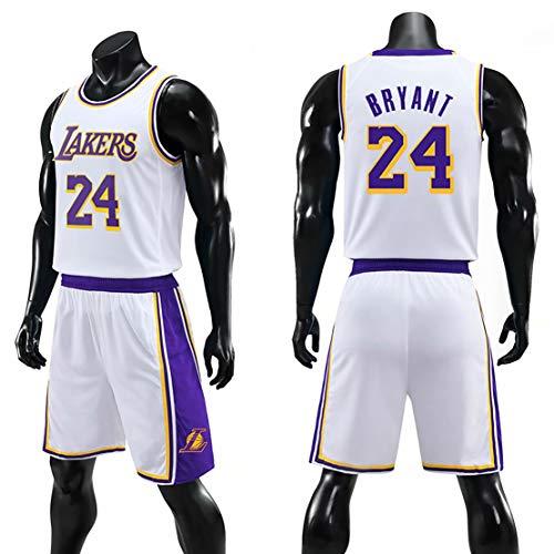 # 24 Kobe-jersey, Lakers-basketbaltrui, kan meerdere keren worden gewassen, volwassenen/kinderen, ademend basketbaluniform