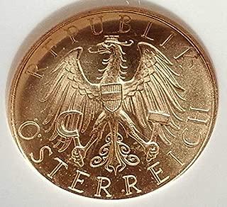 1926 AT 1926 AUSTRIA Old 25 Schilling AV Austrian COIN w 25 Schilling MS 66 NGC