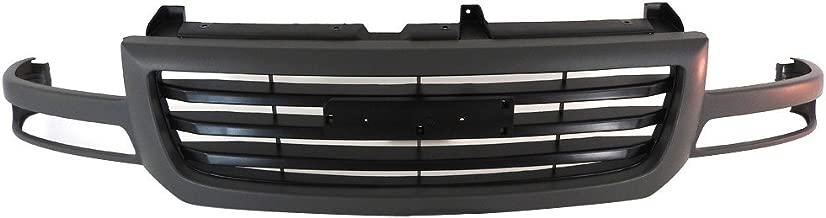 Titanium Plus Autoparts, 2003-2007 Fits For GMC Sierra Front GRILLE