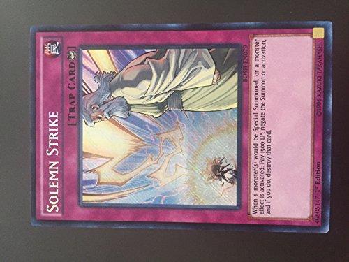 Yu-Gi-Oh! - Solemn Strike (BOSH-EN079) - Breakers of Shadow - 1st Edition - Secret Rare