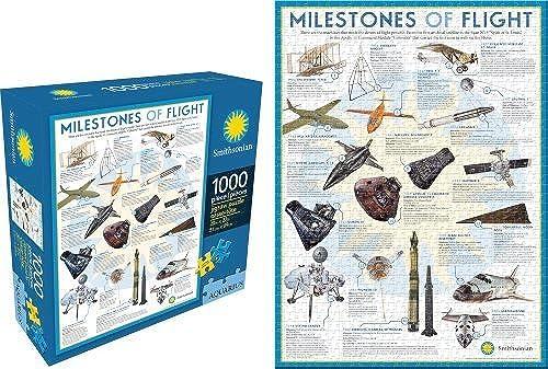 Aquarius Smithsonian - Milestones of Flight Puzzle by Aquarius