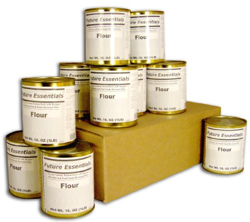Case of Future Essentials Canned All Purpose White Flour