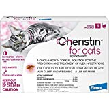 Cheristin Flea Treatment for Cats, 6 Pack, 6 CT