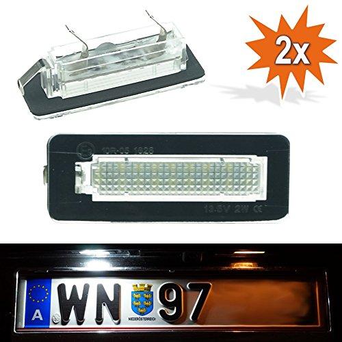 DoLED B15 LED Kennzeichenbeleuchtung Xenon Weiss mit E Prüfzeichen