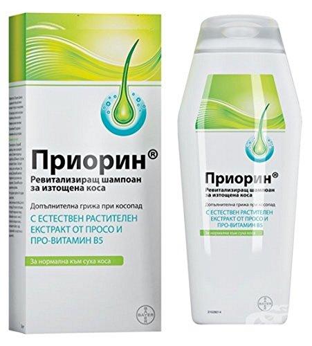 PRIORIN CHAMPÚ 200 ml Pérdida de cabello patrón alopecia calvicio recrecimiento del cabello