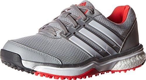 adidas Damen W Adipower S Boost II Spikeless Golfschuh, Grau (Transparenter Onix/FTWR weiß/stoßrot S16), 37.5 EU