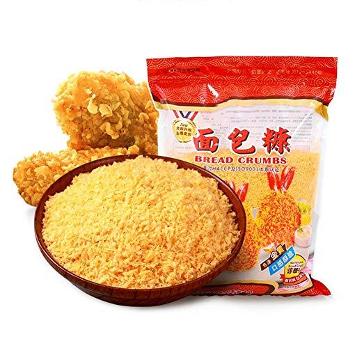Gelbe Brotkrumen nach italienischer Art, 230 g köstliche panierte Semmelbrösel Geeignet für gebratenes Hühnchen, Schweinekotelett, Semmelbrösel, gebratenes Hühnermehl, Brotkrumen Küchenbackzubehör