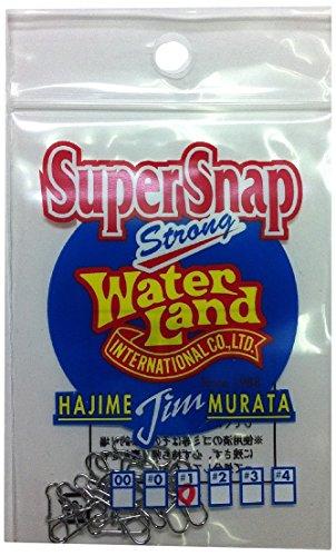 Water Land(ウォーターランド) スーパースナップ シルバー #00