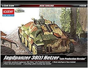 Academy Jagdpanzer 38(t) Hetzer Late Version Military Land Vehicle Model Building Kit