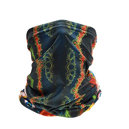 Unknow Máscara de Montar Unisex Multifuncional Headwear Bandana Mascarilla, mascarilla, Diadema, Bufanda, Polaina para el Cuello, protección contra el Polvo y los Rayos UV,Transpirable, pasamontañas