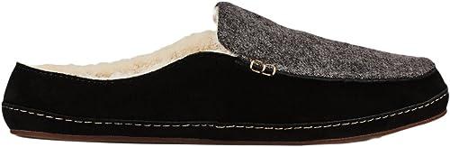 OLUKAI Wohommes Alaula Fog noir noir noir chaussures 7 aea