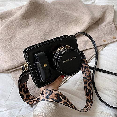 YDZ Kleine Crossbody Tassen Voor Vrouwen Schouder Messenger Tas Lady Handtassen zwart